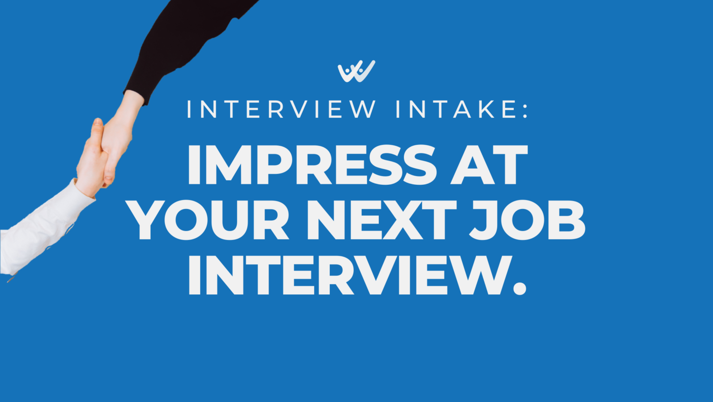 impress at your next job interview